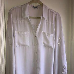 XL Express White Portofino Dress Shirt